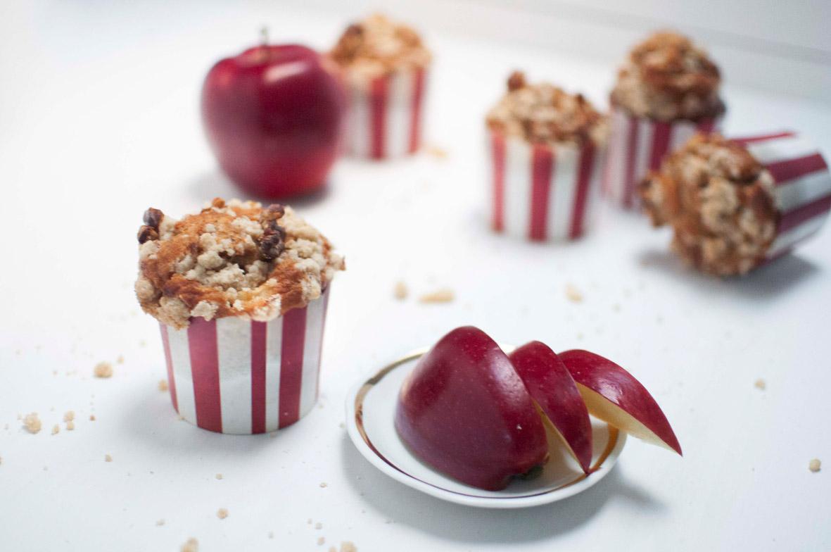 Apfel-Zimt-Walnuss Muffins, einfach herbstlich! voll gut und gut voll
