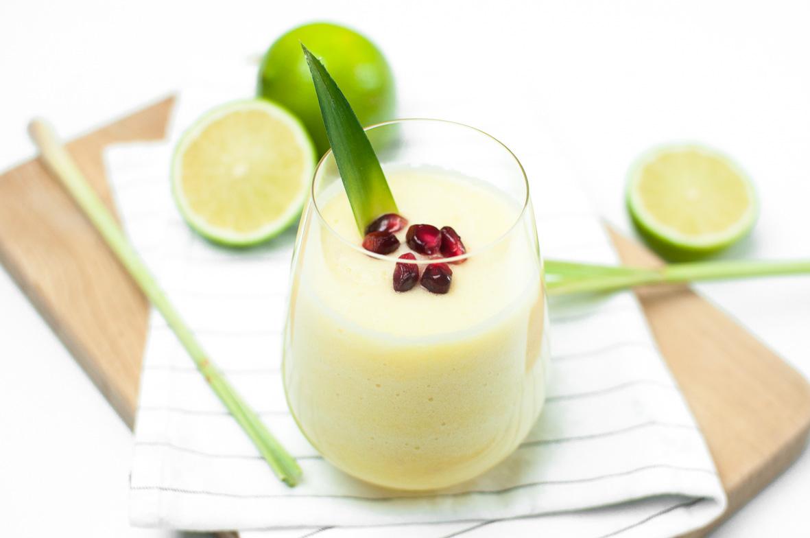 Ananas - Limetten Smoothie03