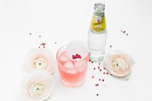 Pink Rose Cocktail http://vollgut-gutvoll.de/2016/01/29/pink-rose-cocktail/  #pink #rose #cocktail