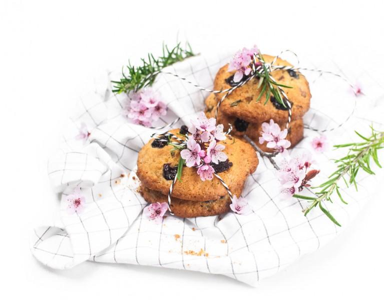 Kirsch Rosmarin Kekse http://wp.me/p6GO5w-Dn Cherry Rosmary cookies
