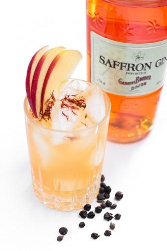 Apple Flip http://wp.me/p6GO5w-Ck Apfel Bratapfel Gin Saffron Gin Äpfel