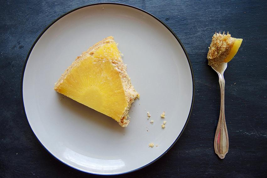 Mandel-Ricotta-Tarte mit Ananas http://wp.me/p6GO5w-J5