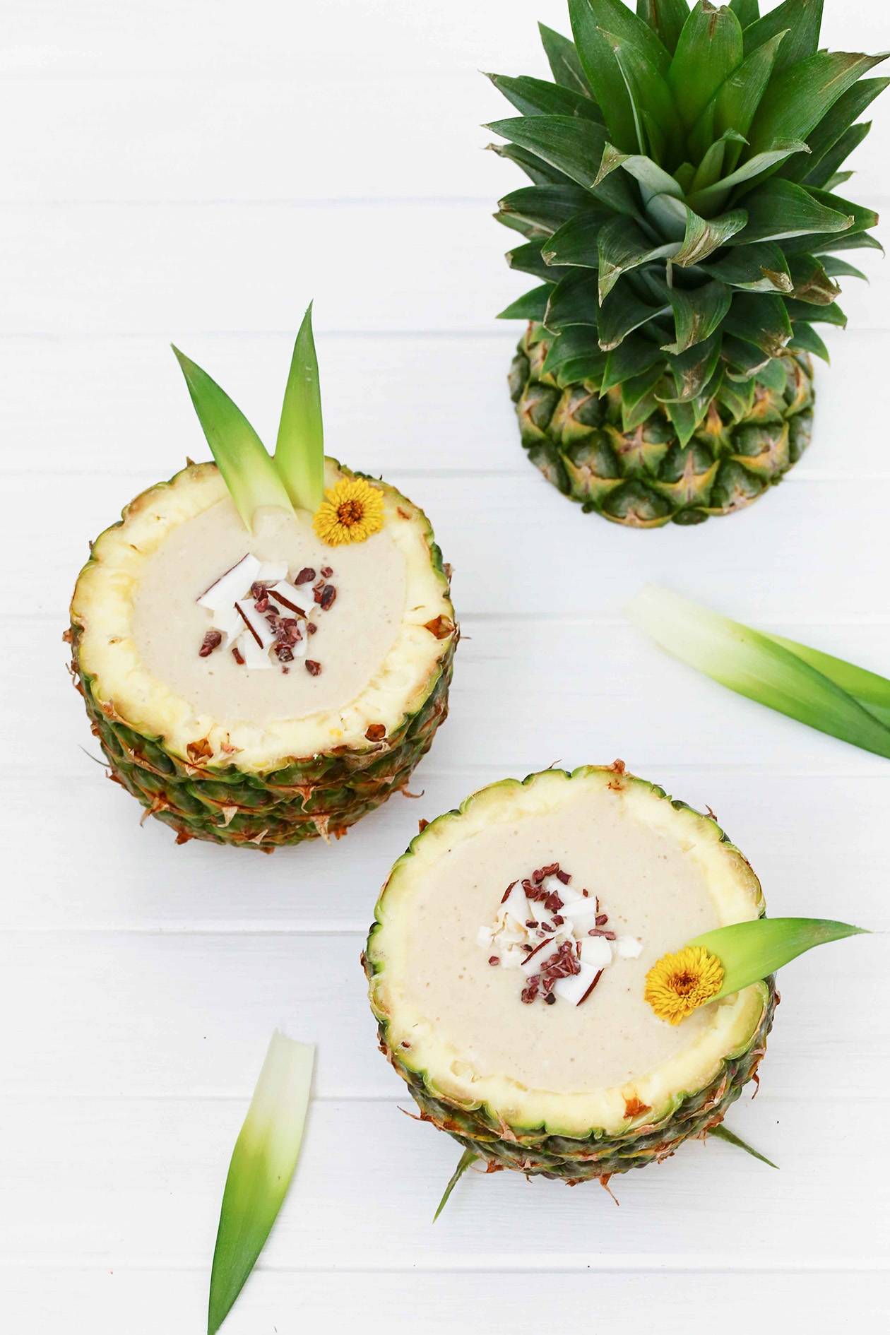 Pina Colada Nicecream http://wp.me/p6GO5w-Hb