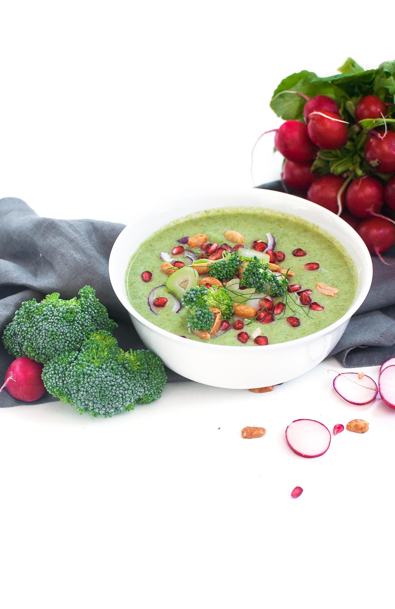 Herbstliche Brokkoli Fenchelsuppe http://wp.me/p6GO5w-Pu