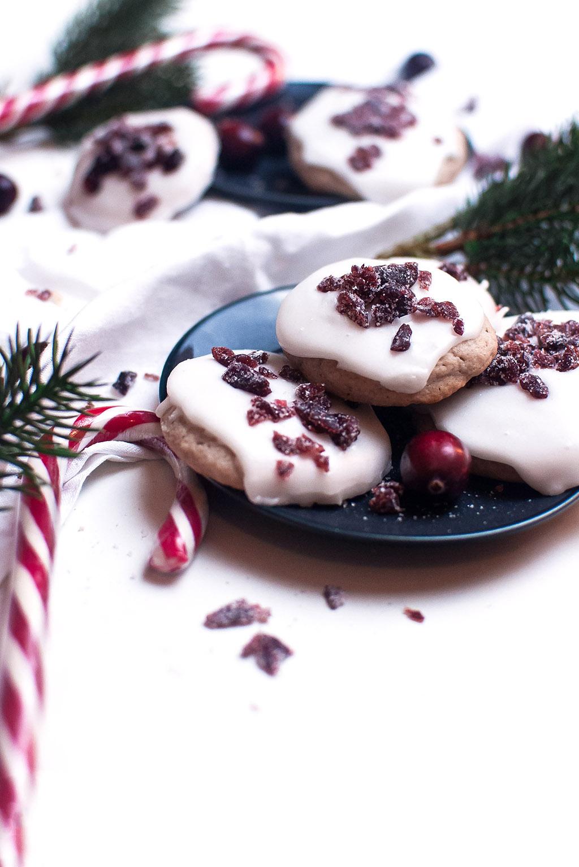 Frosted Cranberry Plätzchen http://wp.me/p6GO5w-RM