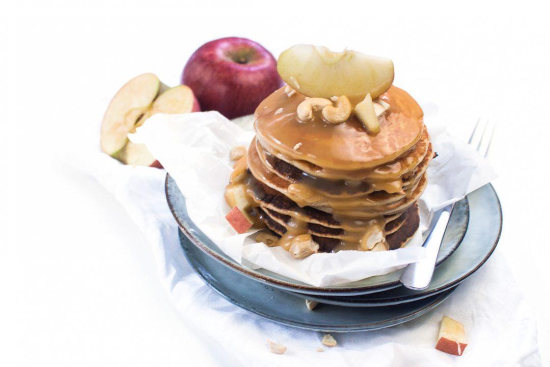 Pfannkuchen Salzkaramell