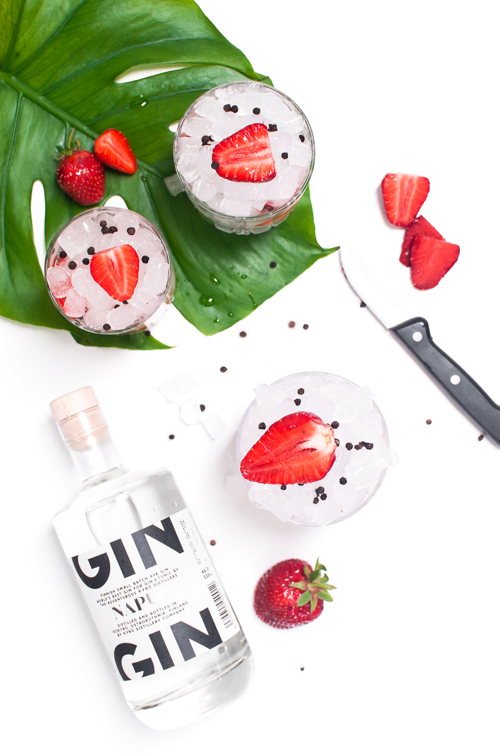 Strawberry Black Pepper Gin - Napue Gin http://wp.me/p6GO5w-W1