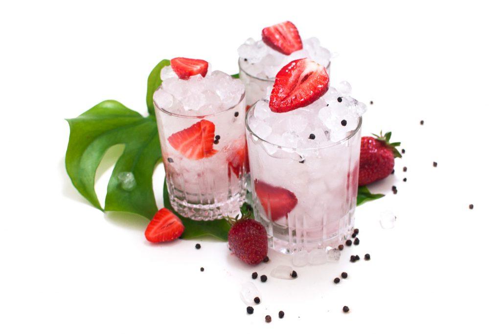 Strawberry Black Pepper Gin - Napue Gin http://wp.me/p6GO5w-W1