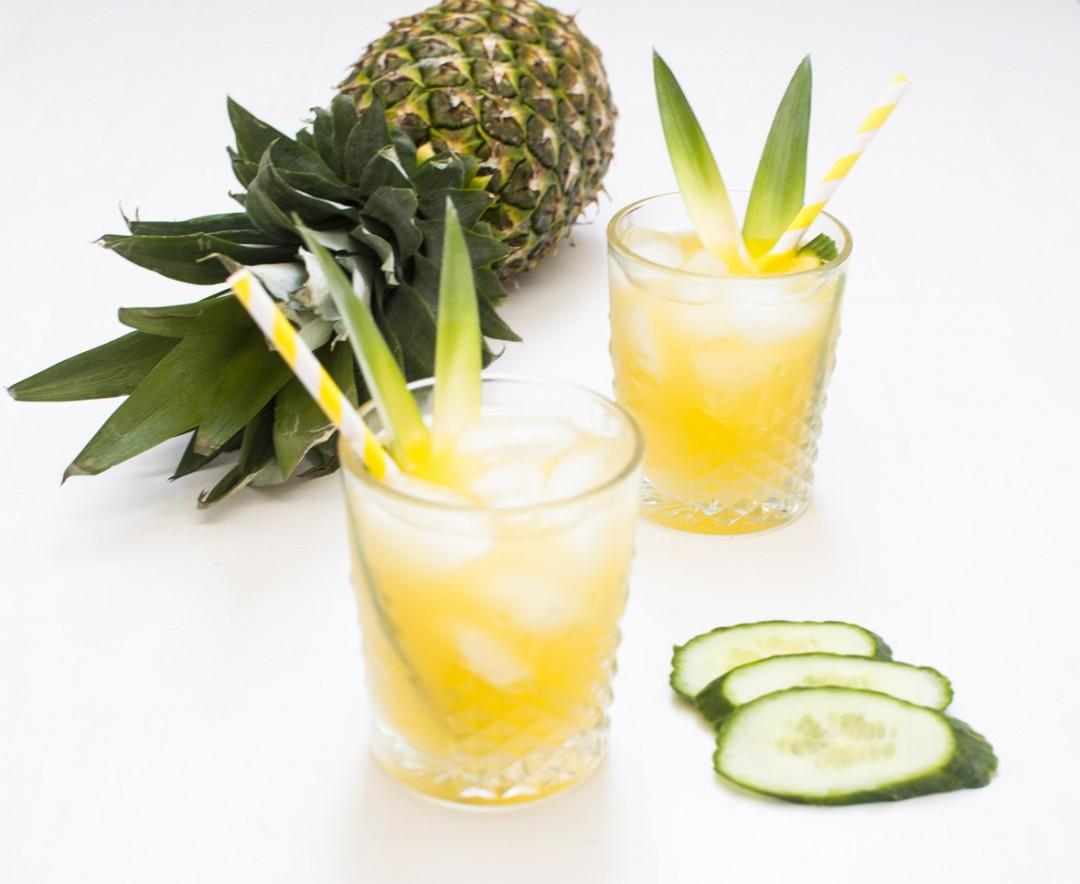 Ananas Gurke- voll gut und gut voll -