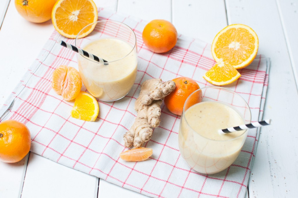 Mandarinen Orangen Smoothie