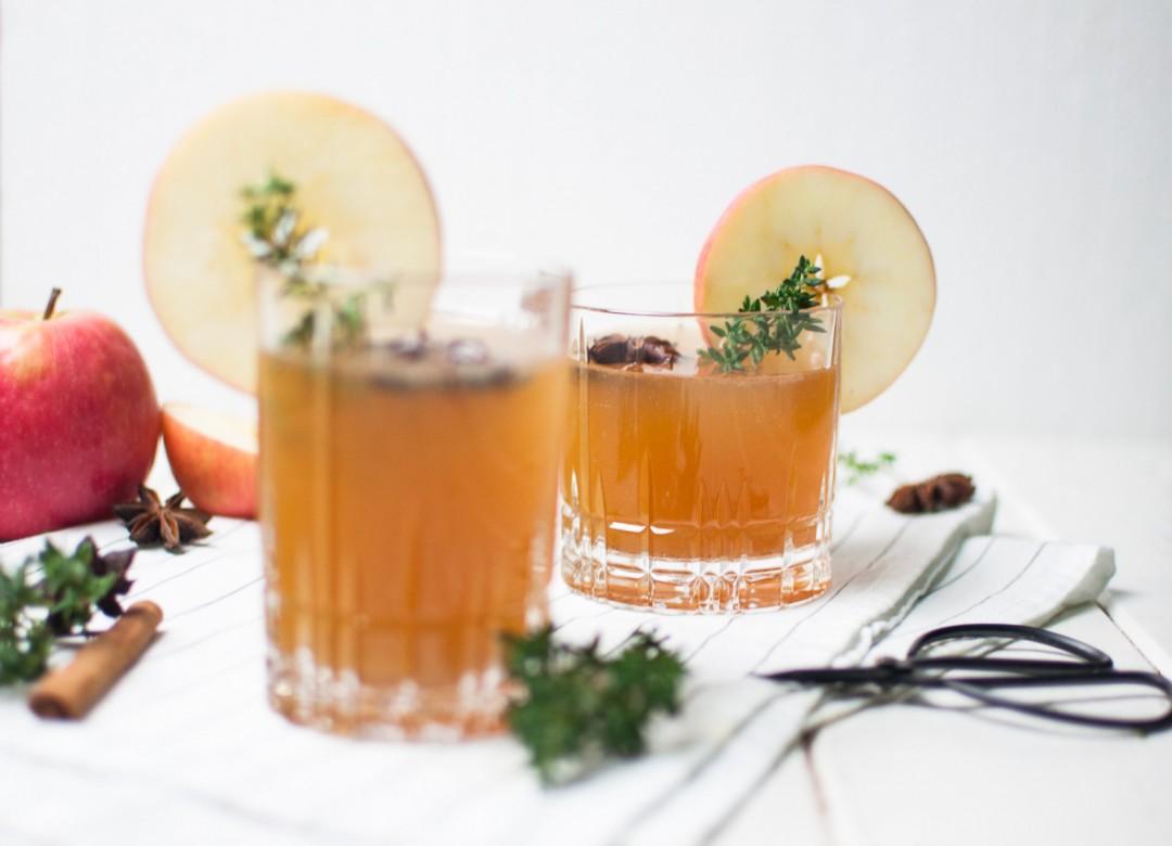 Apfel Rum Punsch - Drink auf's Neue! Blogevent www.vollgut-gutvoll.de